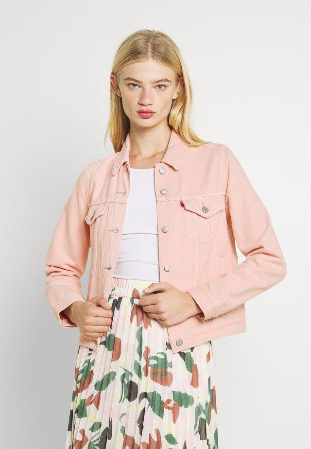 ORIGINAL TRUCKER - Denim jacket - tender pink trucker