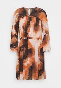 Mos Mosh - CIRAH BLUR DRESS - Day dress - autumn leaf - 0