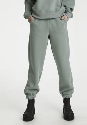 RUBI - Tracksuit bottoms - slate gray