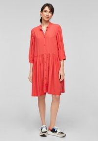 QS by s.Oliver - Shirt dress - red - 1