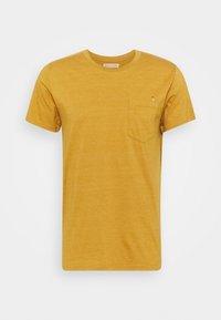 REVOLUTION - REGULAR - Print T-shirt - yellow melange - 0