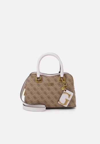 MIKA SMALL GIRLFRIEND SATCHEL - Handbag - brown