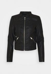 Vero Moda Petite - VMKHLOE  FAVO COATED JACKET PETITE - Faux leather jacket - black - 5
