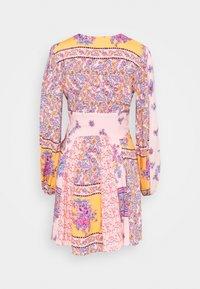 Free People - MIXIN IT UP MINI - Day dress - peach combo - 1