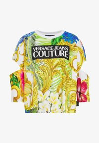 Versace Jeans Couture - LADY - T-shirt print - bianco ottico - 3