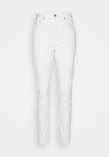 CALLEN - Slim fit jeans - white