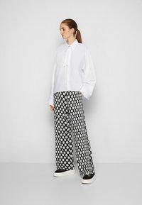 MM6 Maison Margiela - SHIRT - Button-down blouse - white - 4