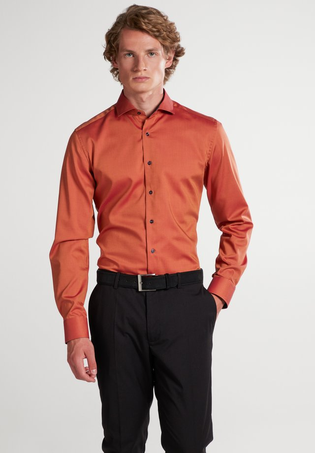 Formal shirt - backsteinrot