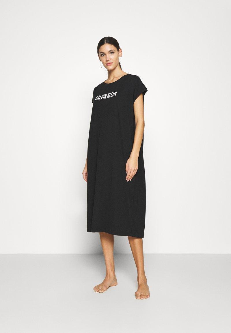 Calvin Klein Swimwear - INTENSE POWER - Nightie - black