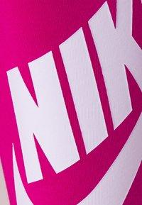 Nike Sportswear - FUTURA - Leggings - Trousers - fireberry/white - 5