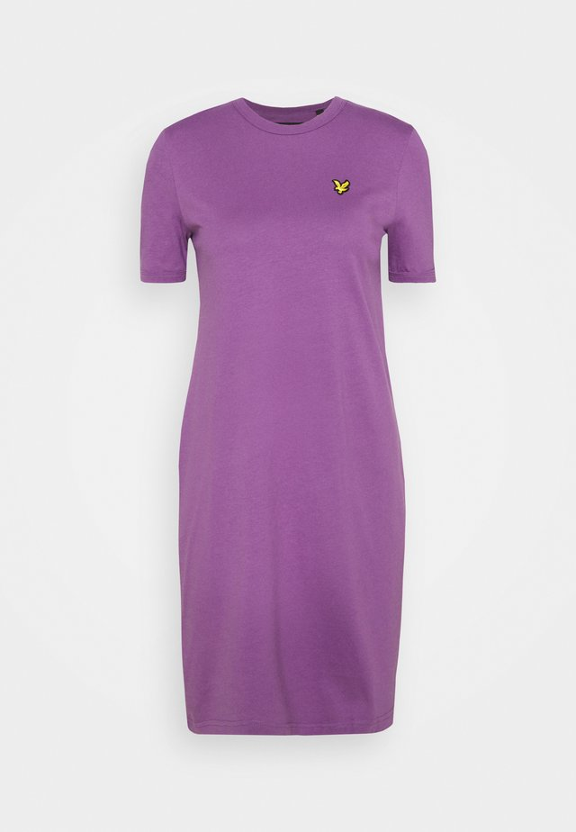 DRESS - Jersey dress - dark thistle