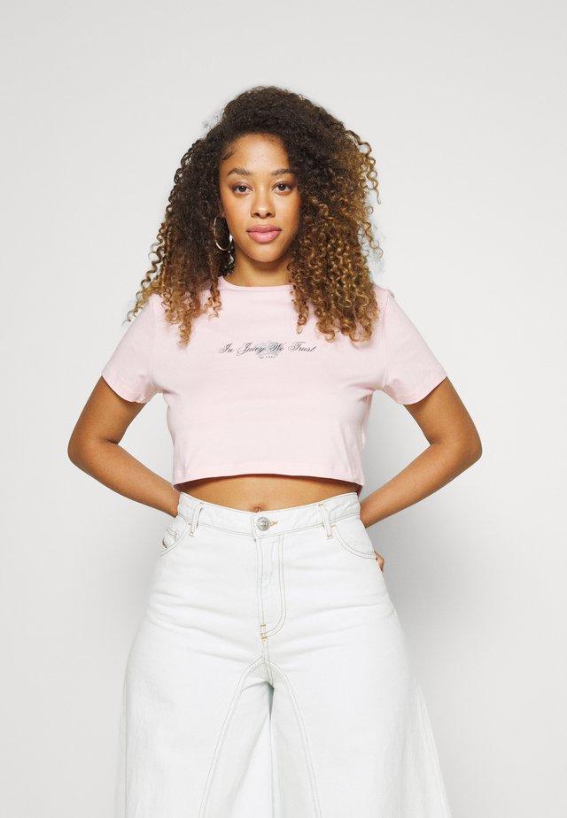 CROWN - T-shirt print - almond blossom