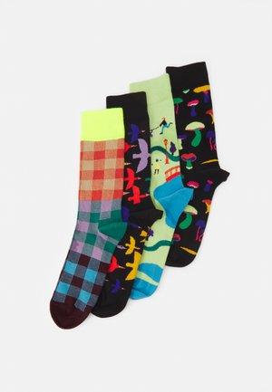 INTO THE PARK 4 PACK UNISEX - Socks - multi