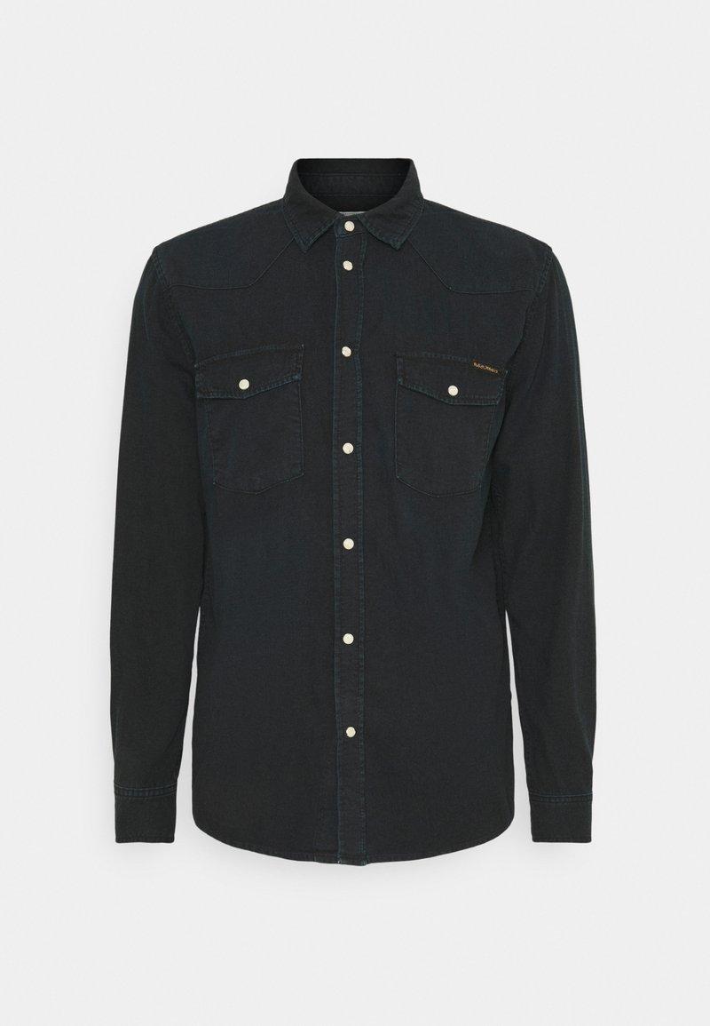 Nudie Jeans - GEORGE - Overhemd - black home