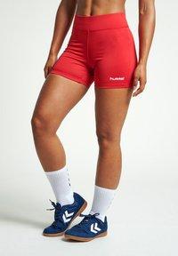 Hummel - HIPSTER  - Sports shorts - true red - 0