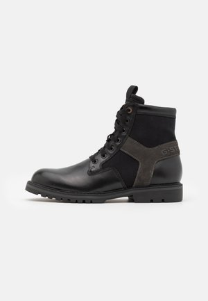 POWELL II - Bottines à lacets - black