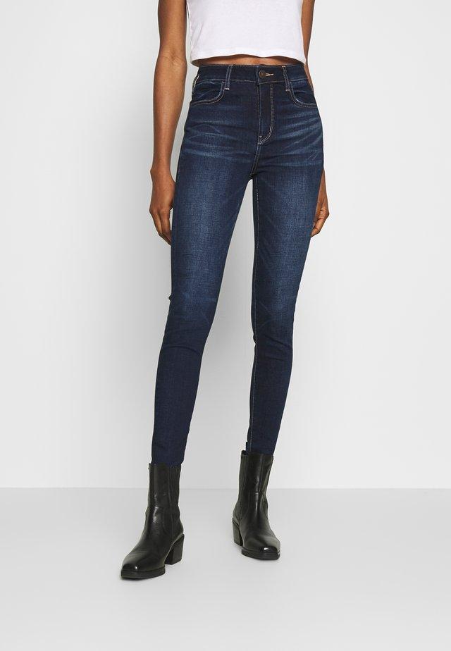 RISE JEGGING - Jeans Skinny Fit - blue denim