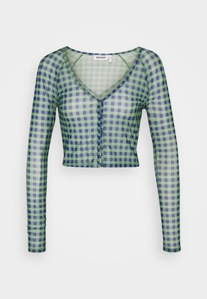 NICOLE - Cardigan - blue/green