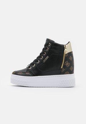 RIGGZ - Sneakers alte - black brass