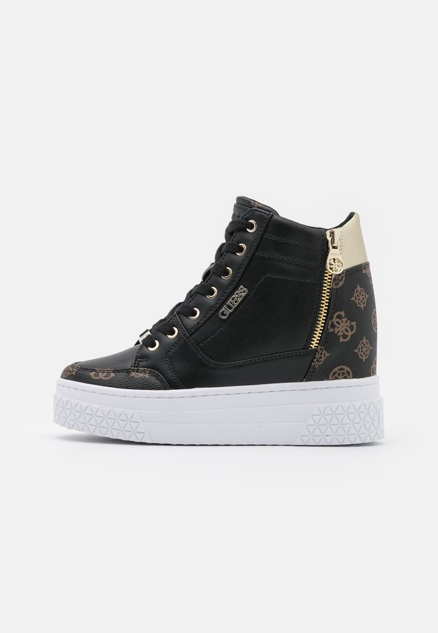 RIGGZ - Sneakers alte - black brass