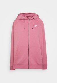 Nike Sportswear - HOODY - Zip-up hoodie - desert berry - 3