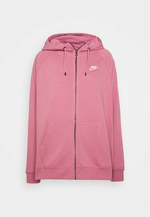 HOODY - Zip-up hoodie - desert berry