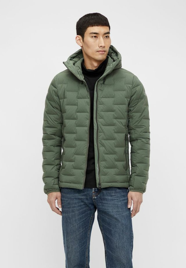Down jacket - thyme green