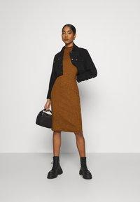 ONLY - ONLJOANNA DRESS  - Shift dress - rubber - 1