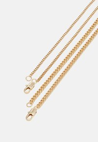 Topman - TWO ROW SNAKE CHAIN NECKLACE 2 PACK - Náhrdelník - gold-coloured - 1