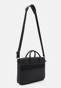 Calvin Klein - LAPTOP BAG UNISEX - Briefcase - black - 1
