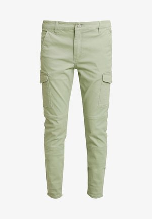 CARGO PANTS - Cargo trousers - earth sage