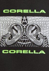 CORELLA - RAVE POSTER UNISEX - Printtipaita - black - 2