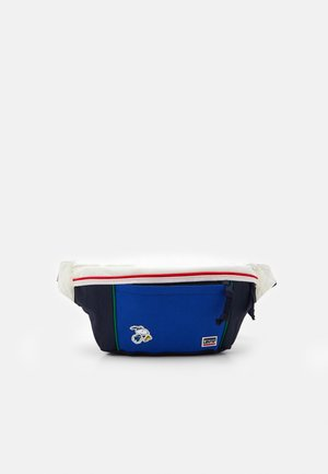 SNOOPY SPORT MEDIUM BANANA SLING UNISEX - Rumpetaske - navy blue