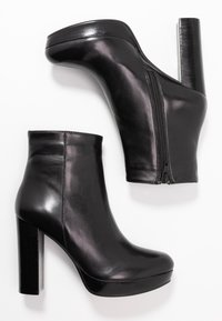 Steven New York - BARRY - High heeled ankle boots - black - 3