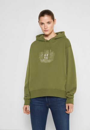 BULKY HOODIE - Sweatshirt - green
