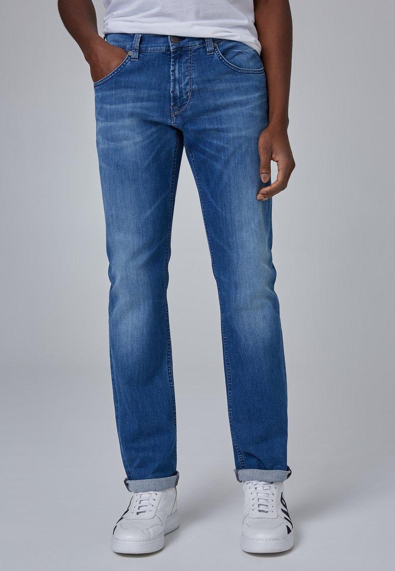 Baldessarini - Slim fit jeans - blue used buffies