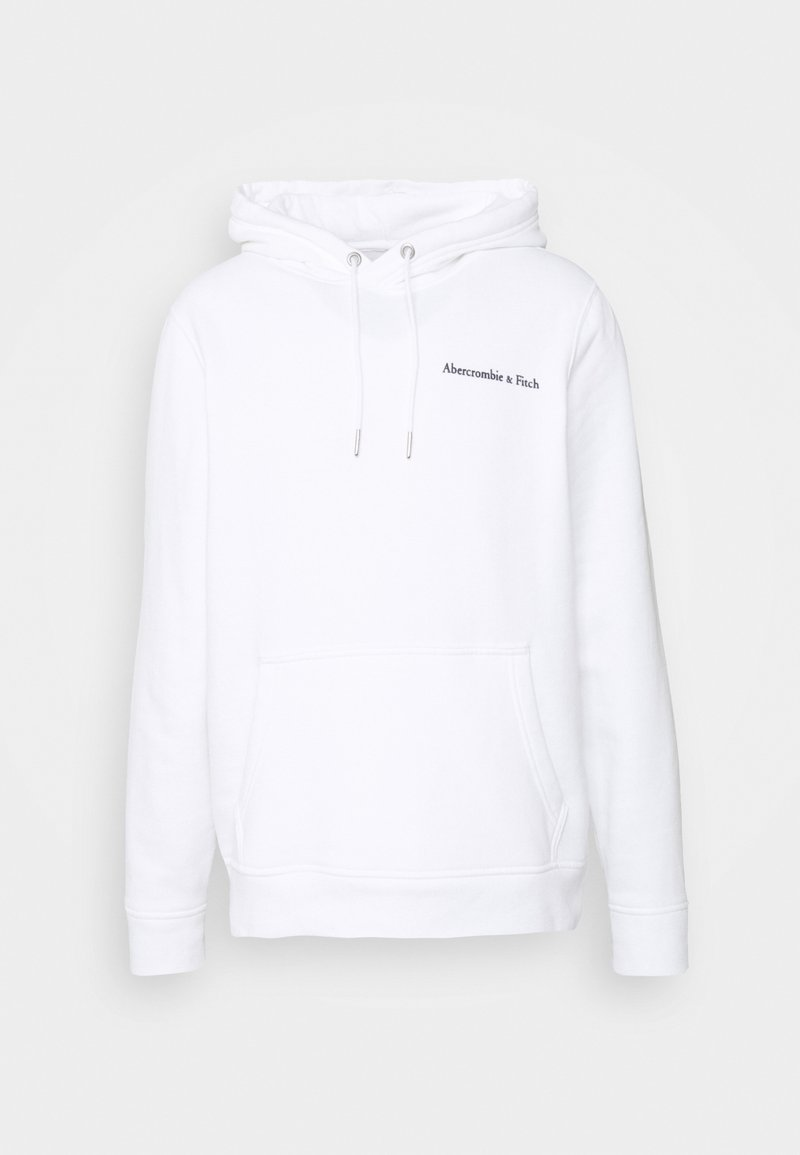 Abercrombie & Fitch PHOTOREAL LOGO CHASE - Sweatshirt - white/weiß 6ARVAY