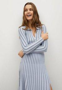 Mango - ARARE - A-line skirt - bleu - 3