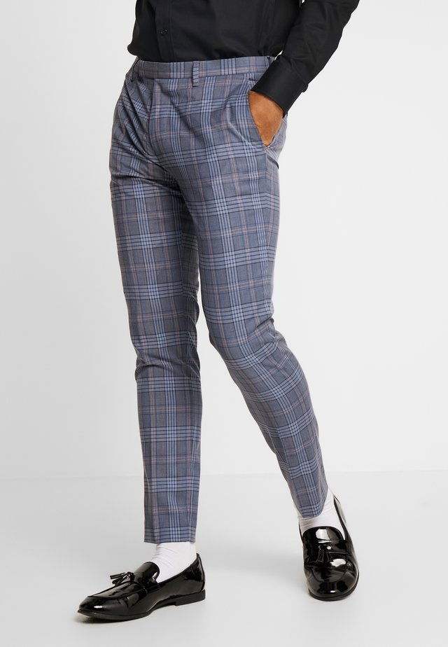 GLEN SUIT - Pantaloni - blue