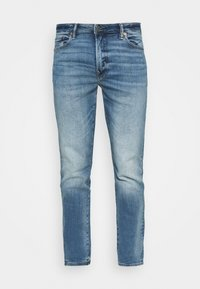 American Eagle - WASH - Jeans Slim Fit - faded light - 4