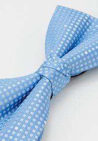 Jack & Jones - JACSANTANDER BOW TIE - Bow tie - cashmere blue/white - 4