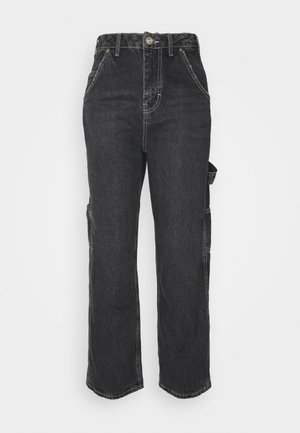 ALBIE CARPENTER  - Straight leg jeans - washed black