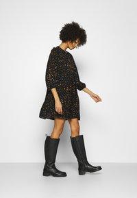 GAP - MINI TRAPEZE - Day dress - black - 1