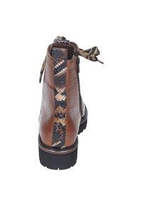 Maripé - Lace-up ankle boots - cognac - 2