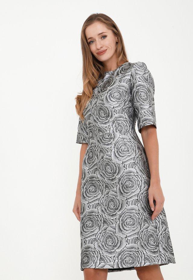 SANATA - Korte jurk - silbrig
