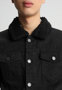 Brave Soul - WILBUR - Denim jacket - black denim - 3