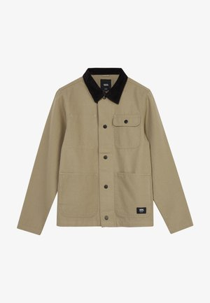 DRILL CHORE COAT BOYS - Light jacket - military khaki