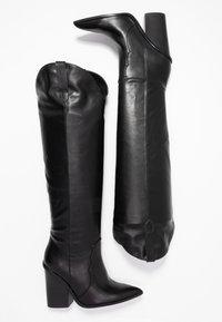 Steve Madden - RANGER - High heeled boots - black - 3