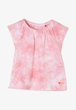 MIT BATIK-EFFEKT - T-Shirt print - light pink