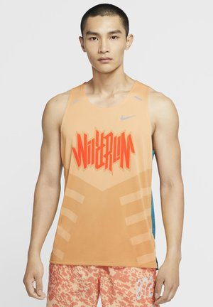 RISE TANK - Camiseta de deporte - gelati/geode teal/gelati